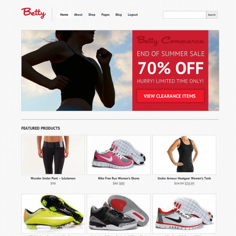 Betty WooCommerce WordPress Theme. 59 Mojo