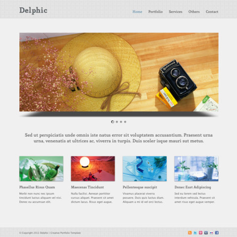 Delphic HTML template 25