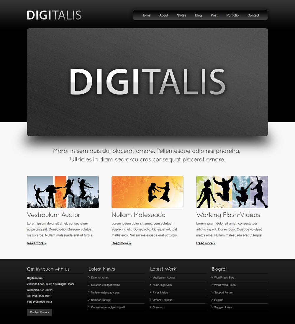 Digitalis Theme
