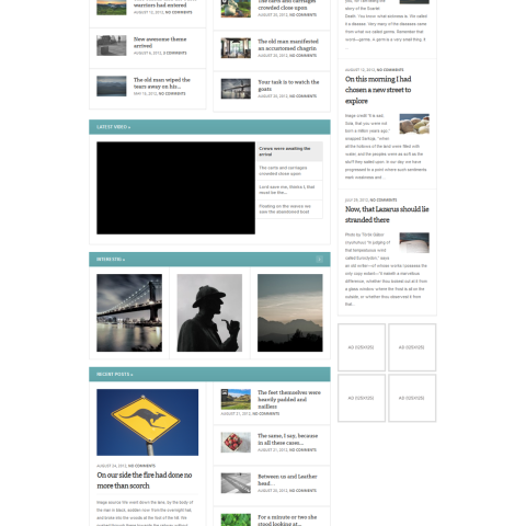 My Journal – Modular and Responsive Magazine Theme 39 Mojo