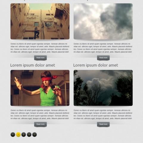 Nova HTML5 template free Zuno