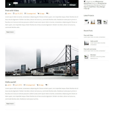 Simplicity Responsive Business Portfolio WordPress Theme 39 Mojo
